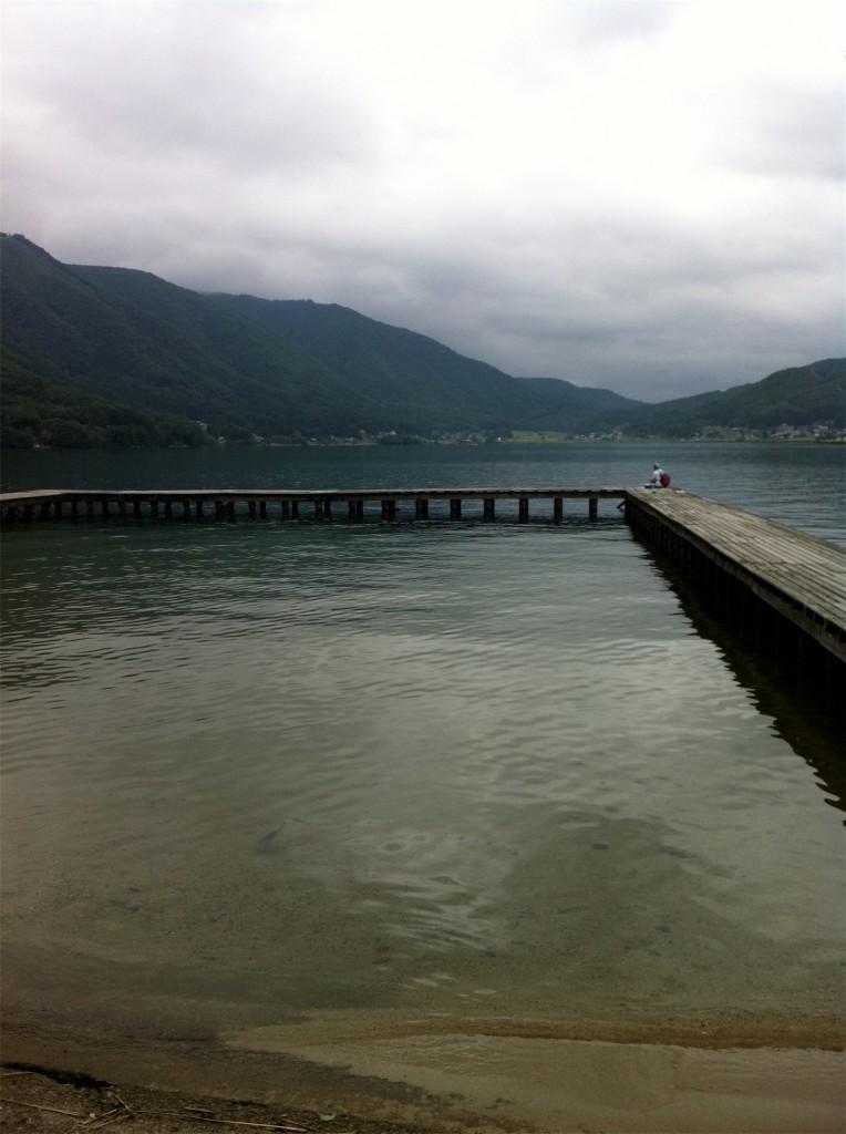 野尻湖 バス釣り