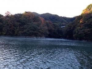 相模湖バス釣り11月霜1