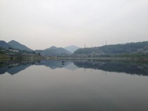 相模湖 島田湖