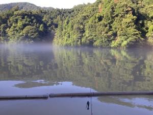 相模湖 バス釣り 本湖 濁り01